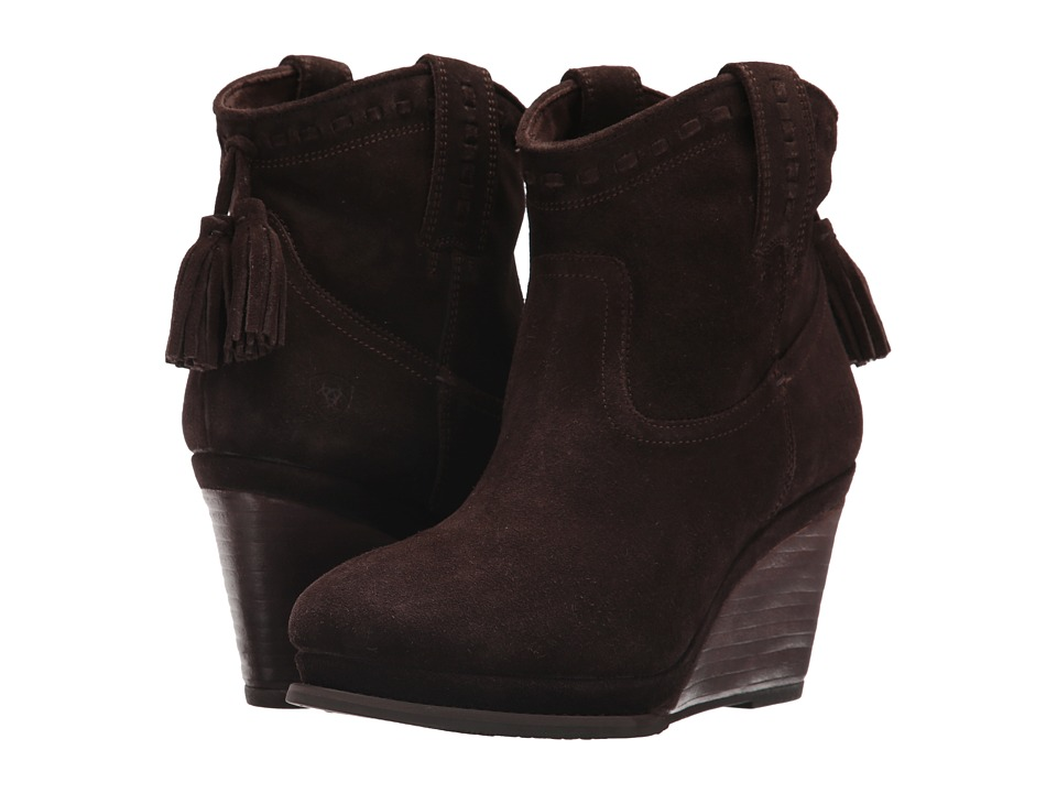 Ariat Broadway (Dark Brown Suede) Women