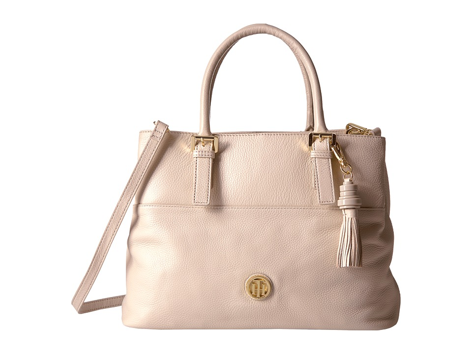 Tommy Hilfiger - Summer of Love Pebble Shopper (Blush) Handbags