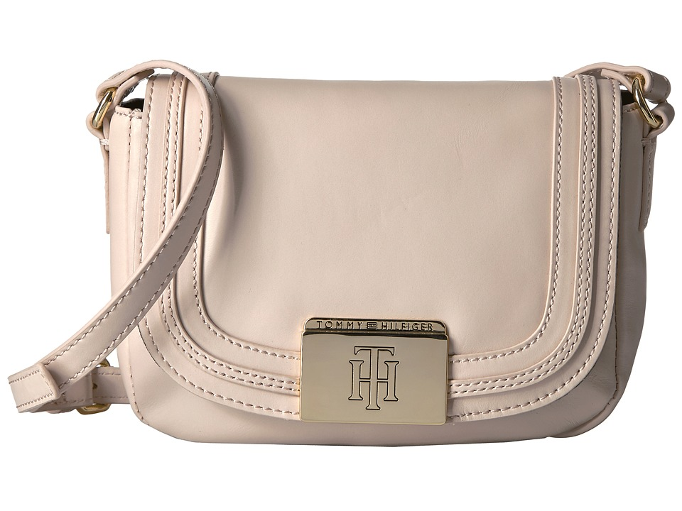 Tommy Hilfiger - Violet Saddle Bag (Blush) Handbags