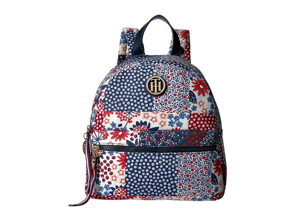 Tommy Hilfiger - Patchwork Backpack (Red/Multi) Backpack Bags