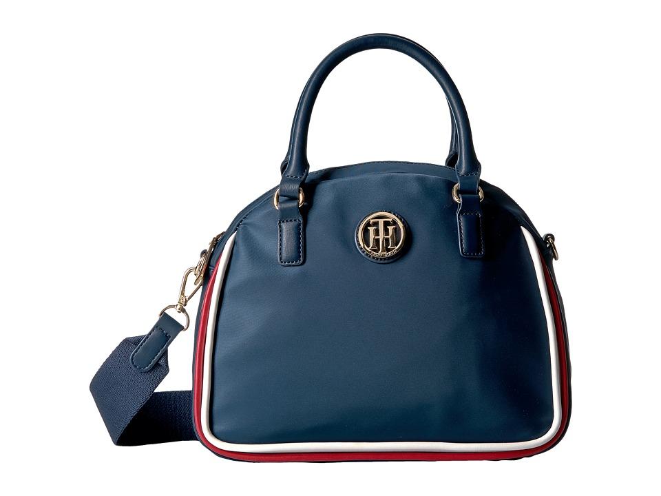 Tommy Hilfiger - Alice Satchel (Navy) Satchel Handbags