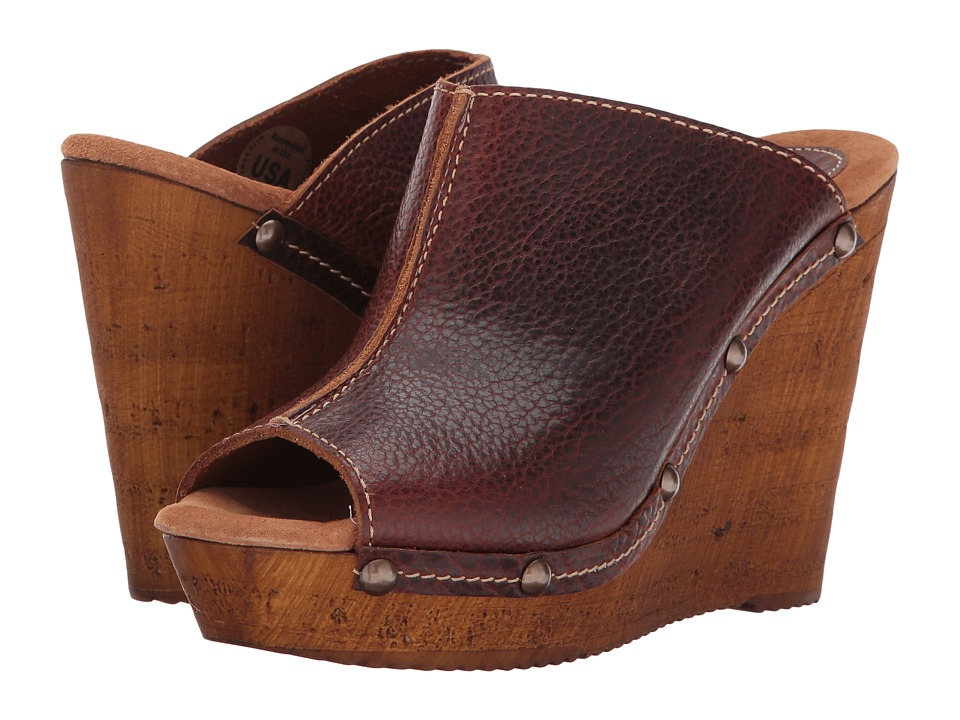 Sbicca - Jet (Brown) Women's Wedge Shoes