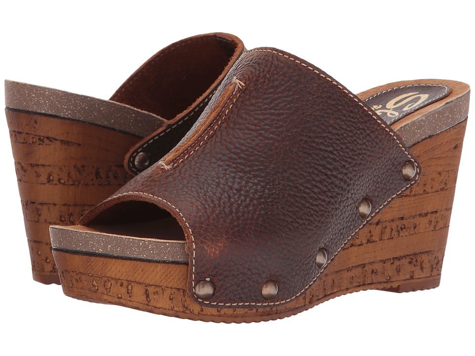 Sbicca - Lenox (Brown) Women's Wedge Shoes