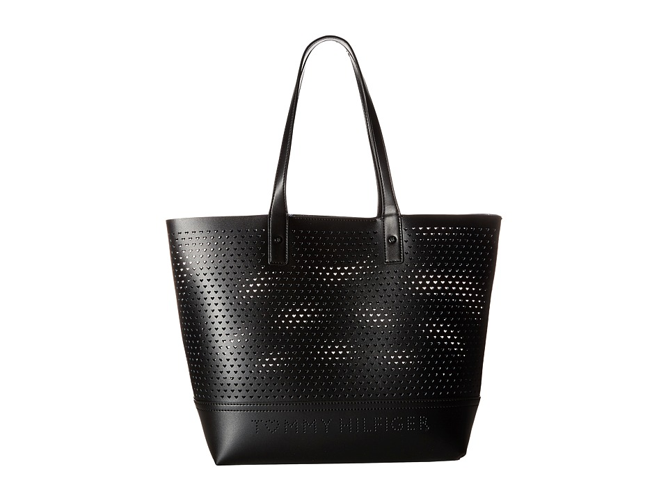Tommy Hilfiger - Laura Tote (Black) Tote Handbags