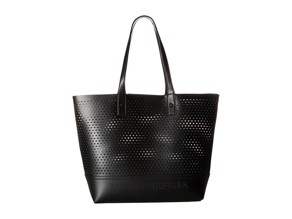 Tommy Hilfiger - Laura Tote (Black) Tote Handbags