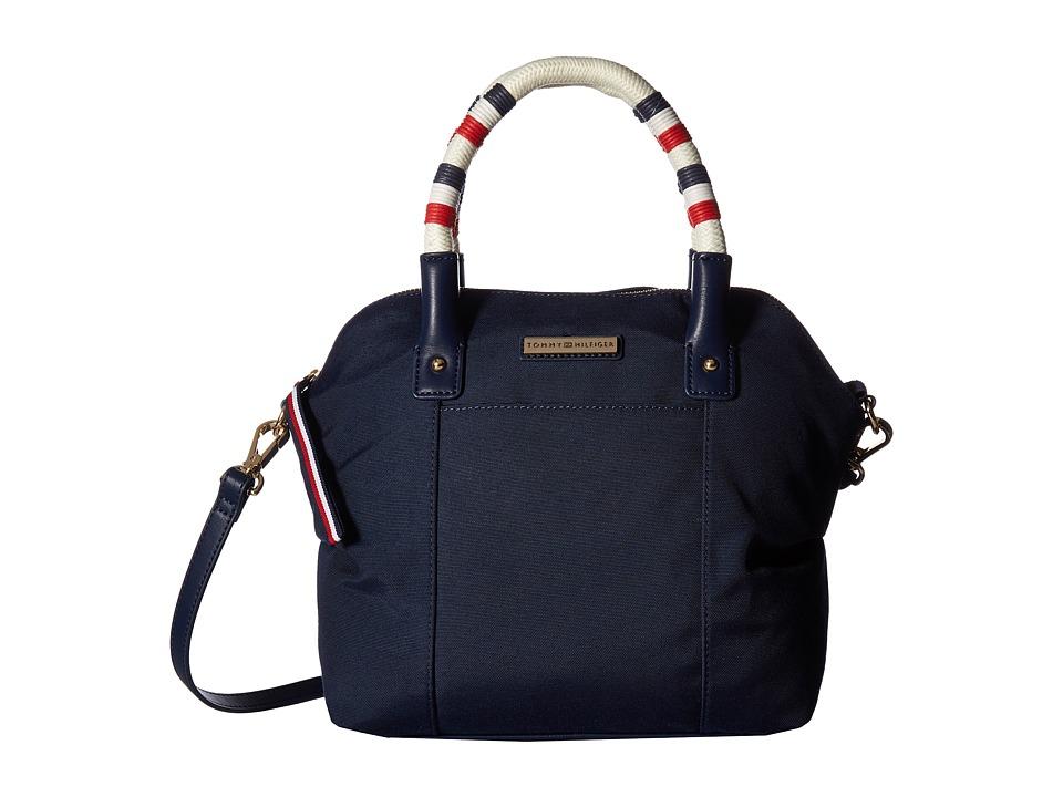 Tommy Hilfiger - Angelica Satchel (Navy) Satchel Handbags