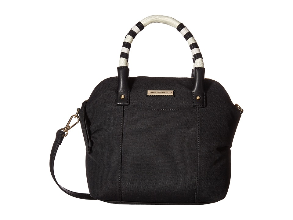 Tommy Hilfiger - Angelica Satchel (Black) Satchel Handbags