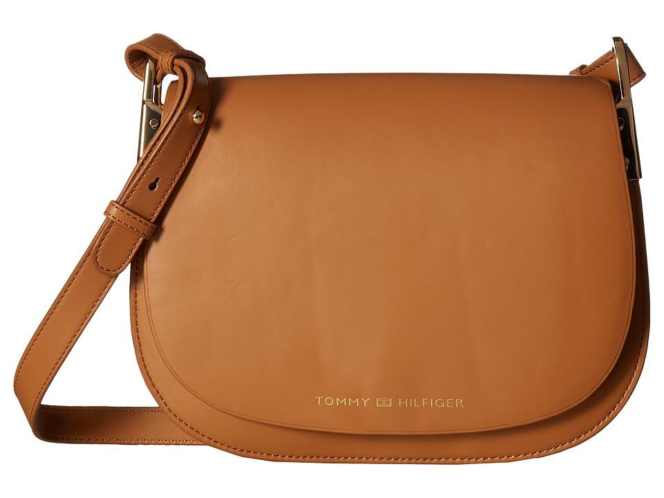 Tommy Hilfiger - Tommy Icon Saddle Bag (Vachetta) Handbags