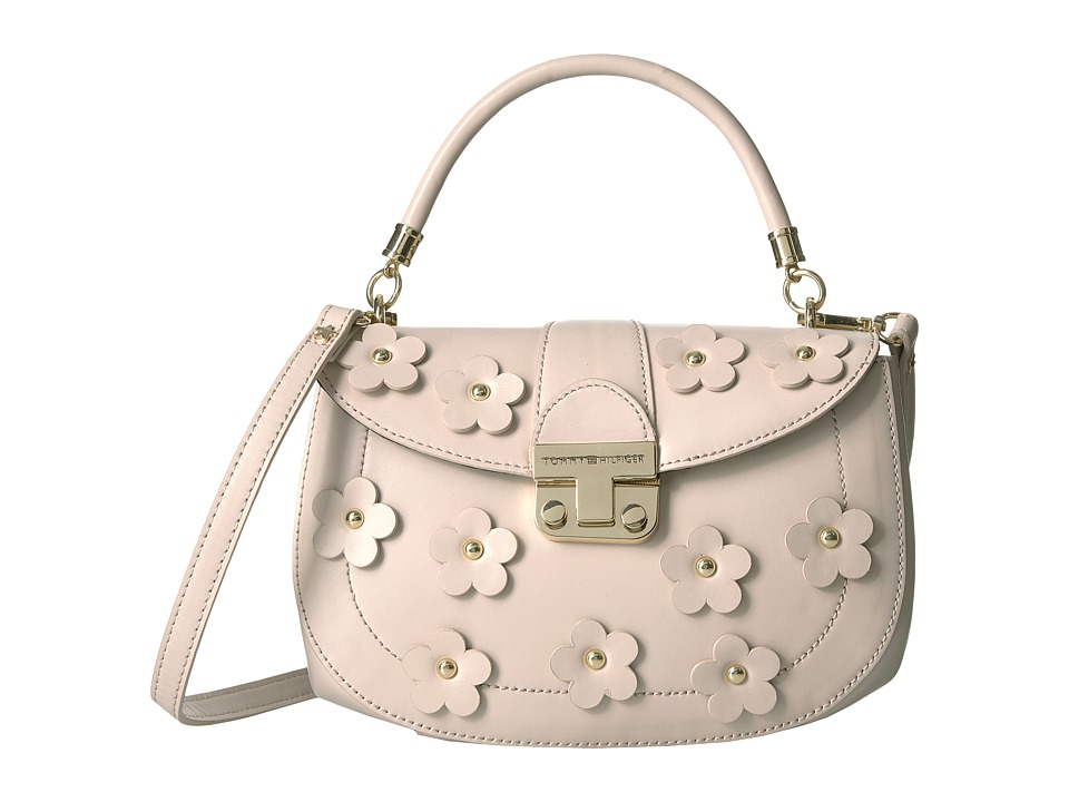 Tommy Hilfiger - Tommy Flower Flap Crossbody (Blush) Cross Body Handbags