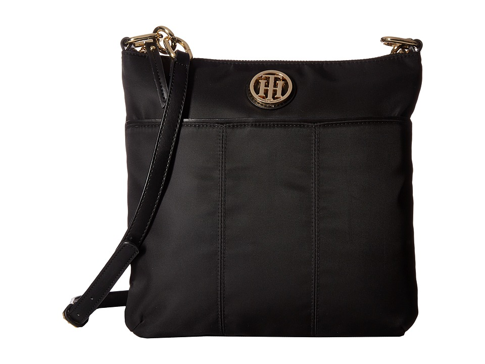 Tommy Hilfiger - Tommy Signature Crossbody (Black) Cross Body Handbags