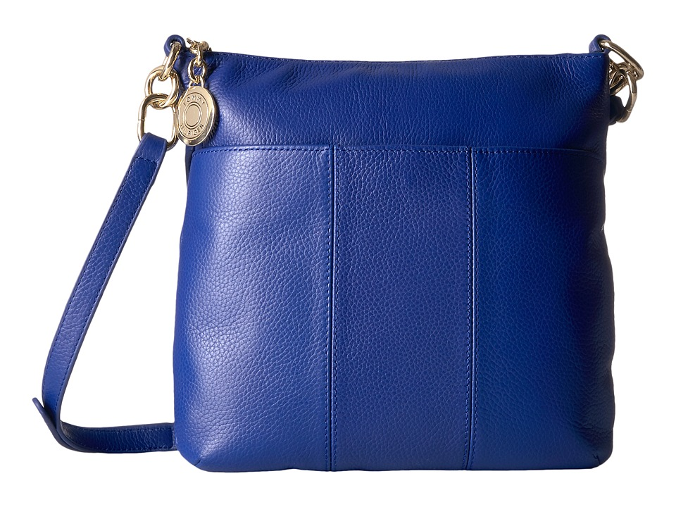 Tommy Hilfiger - Tommy Signature Pebble Crossbody (Cobalt) Cross Body Handbags