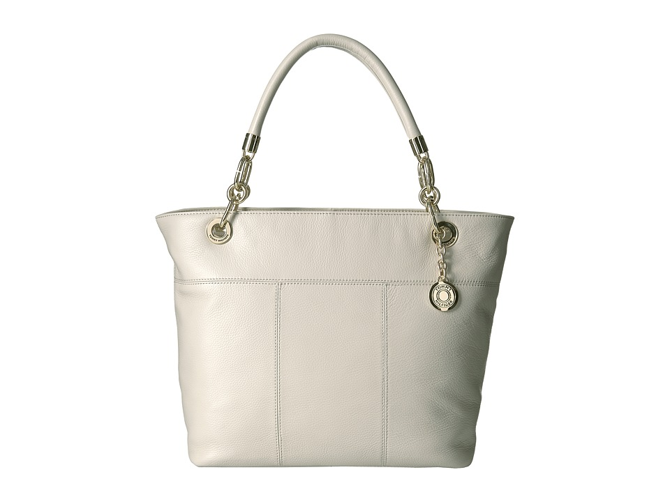 Tommy Hilfiger - Tommy Signature Pebble Tote (Oatmeal) Tote Handbags