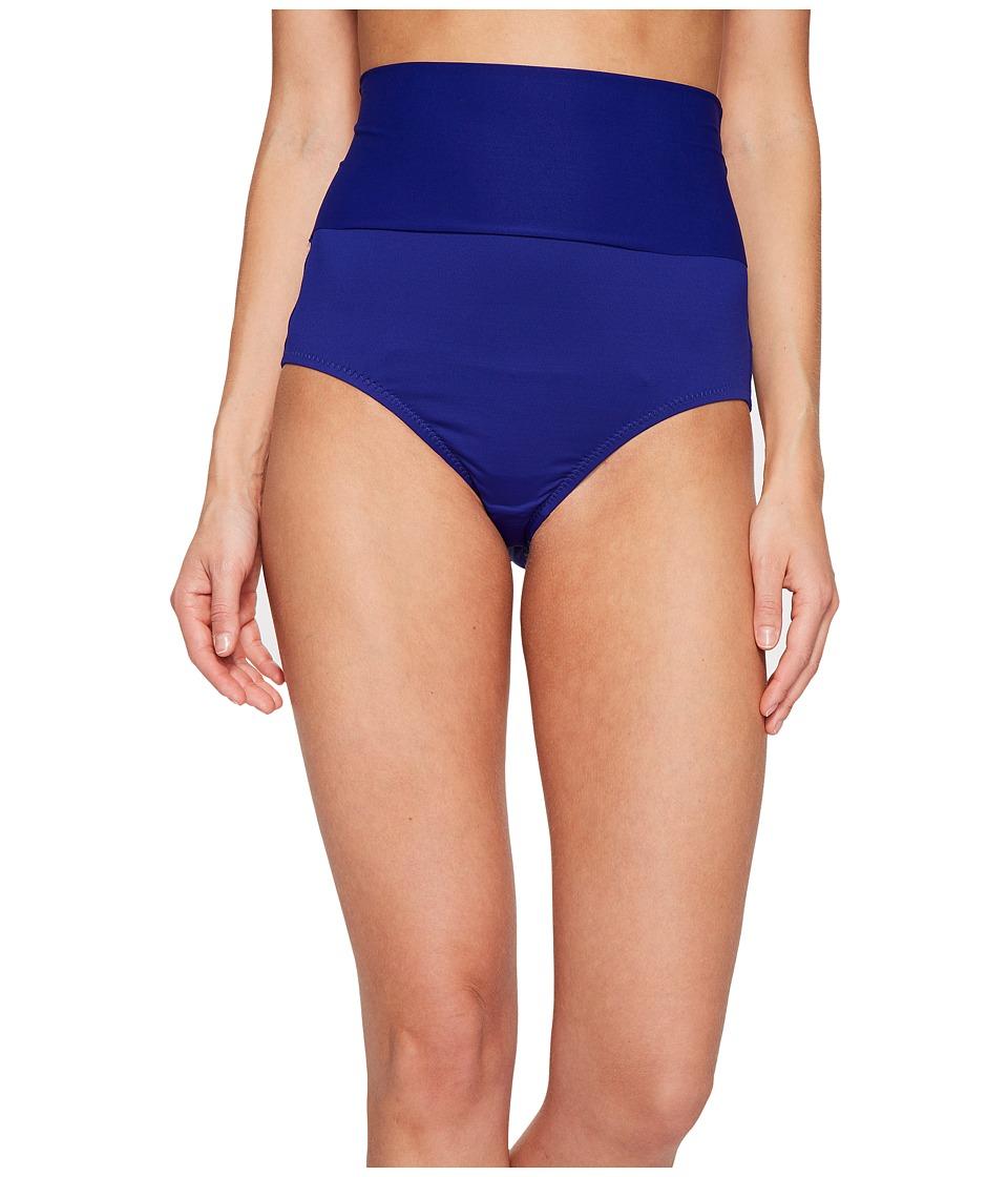 Trina Turk Gypsy Solids Adjustable Bikini Bottom (Indigo) Women