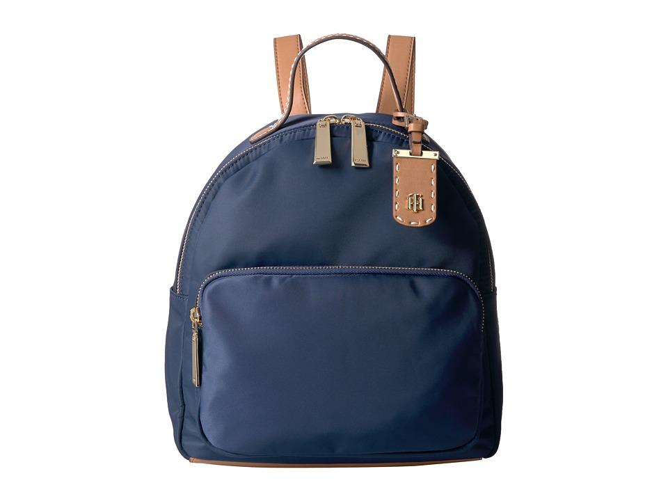 Tommy Hilfiger - Julia Backpack (Navy) Backpack Bags