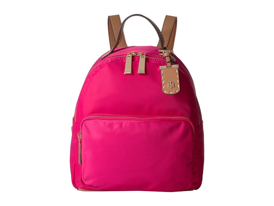Tommy Hilfiger - Julia Backpack (Bright Rose) Backpack Bags