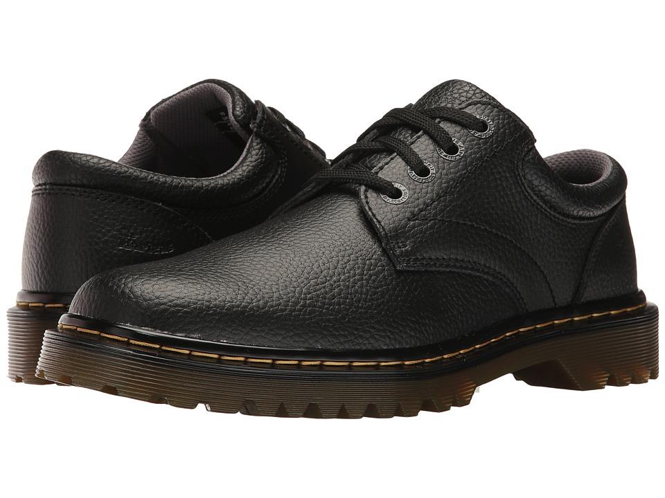 Dr. Martens - Ashfeld (Black Action Grainy) Men's Shoes