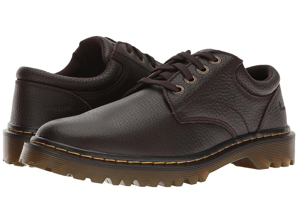 Dr. Martens - Ashfeld (Dark Brown Grainy Full Grain) Men's Shoes