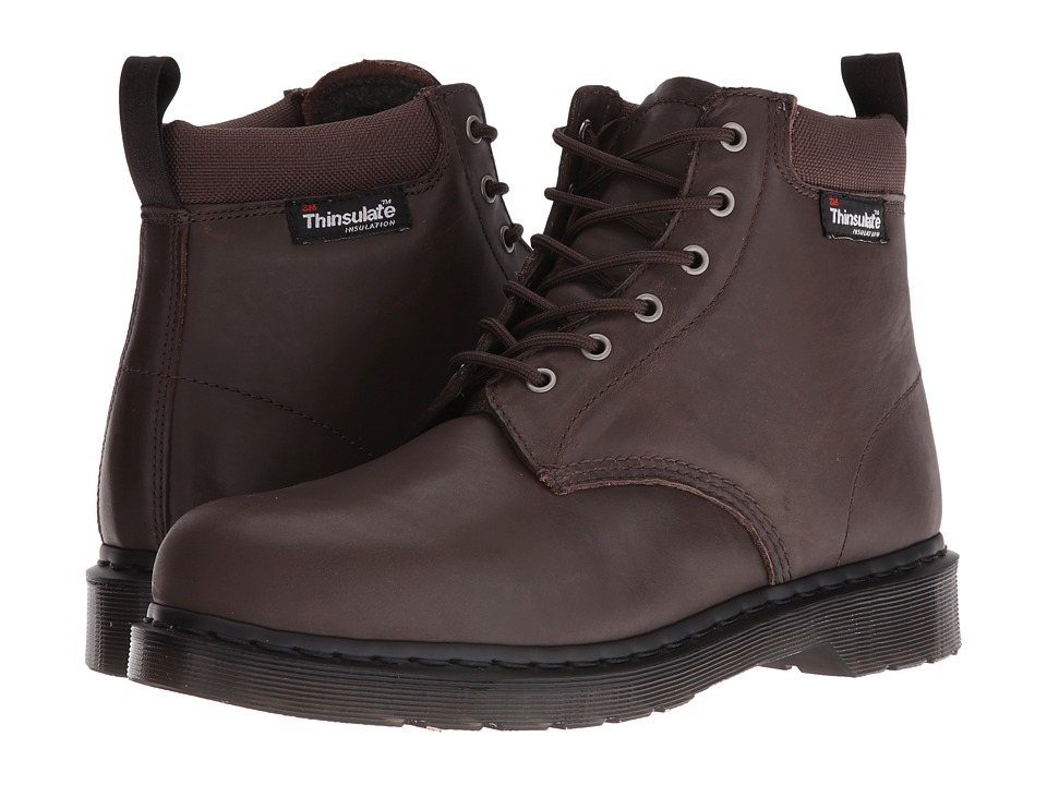Dr. Martens - 939 (Dark Brown New Laredo/Extra Tough Nylon) Men's Shoes