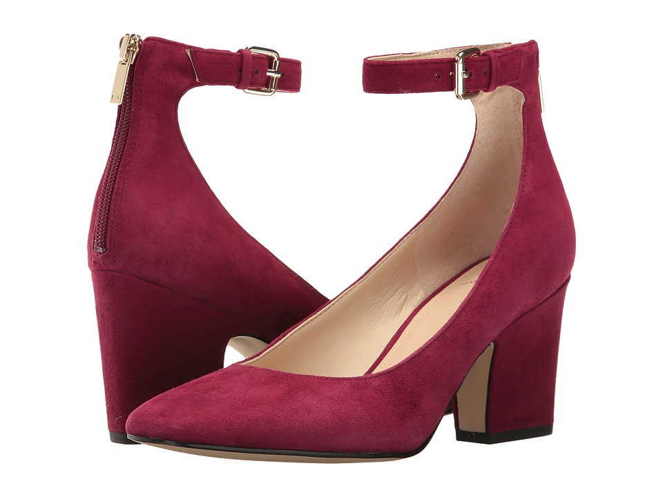 Marc Fisher LTD - Anisy (Berry Suede) Women's Shoes
