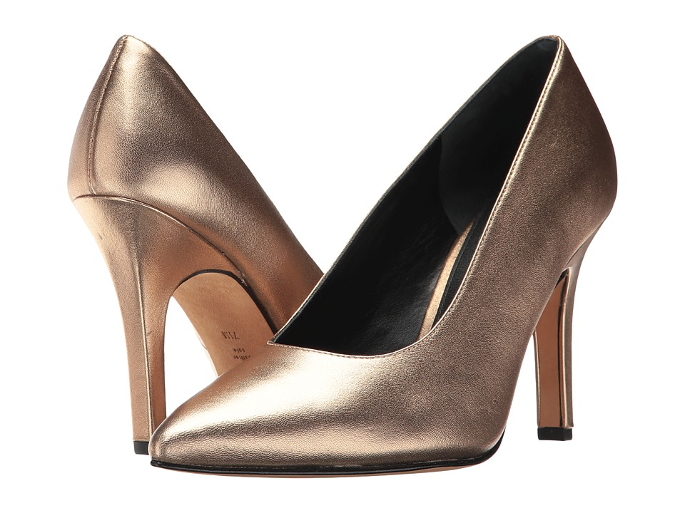 Marc Fisher LTD Ulla (Gold Leather) Women