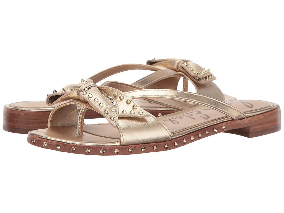 Sam Edelman - Dariel (Molten Gold Foiled Metallic Leather) Women's Shoes