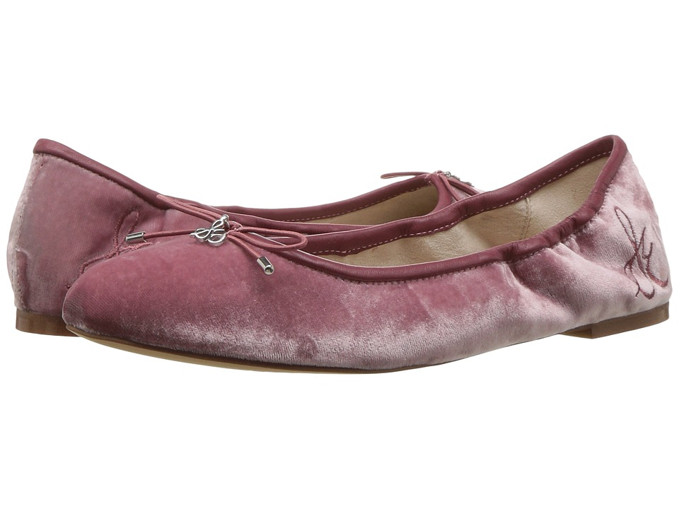 Sam Edelman Felicia (Faded Rose Silky Velvet) Women