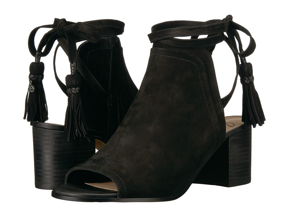 Sam Edelman - Sampson (Black Jabuck Leather) Women's Shoes