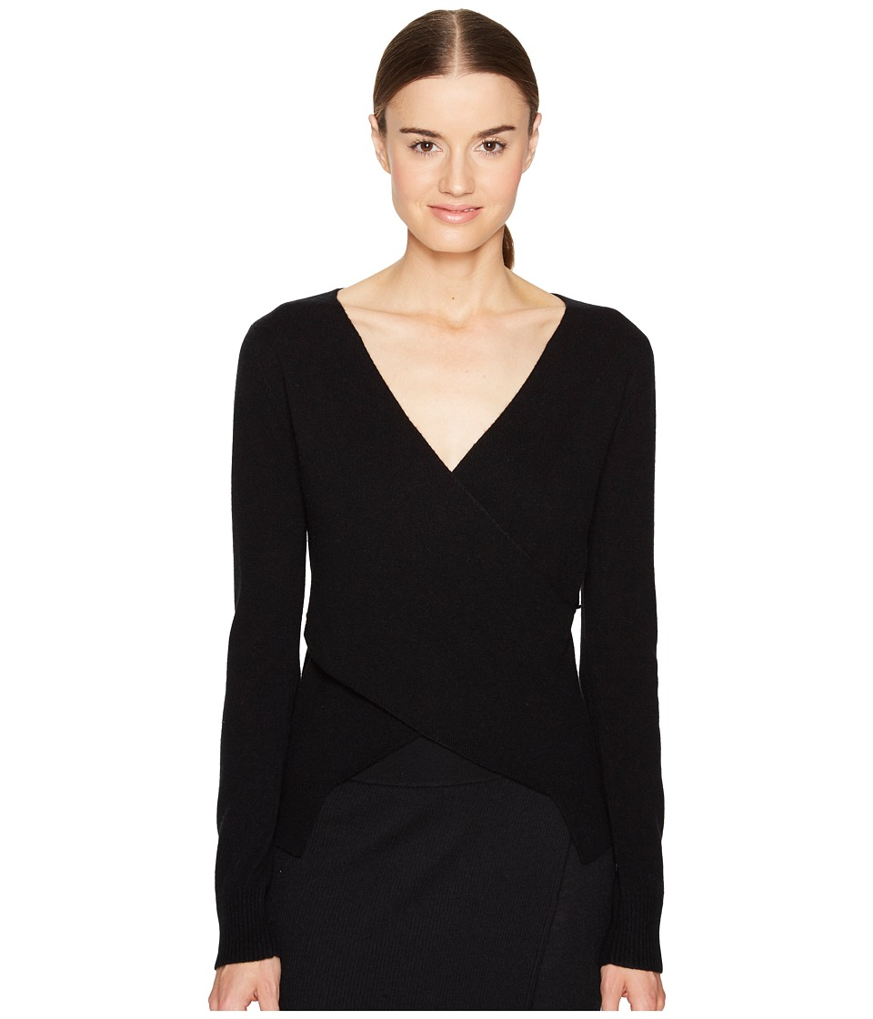 Cashmere In Love - Chloe Pullover (Black) Women's Clothing