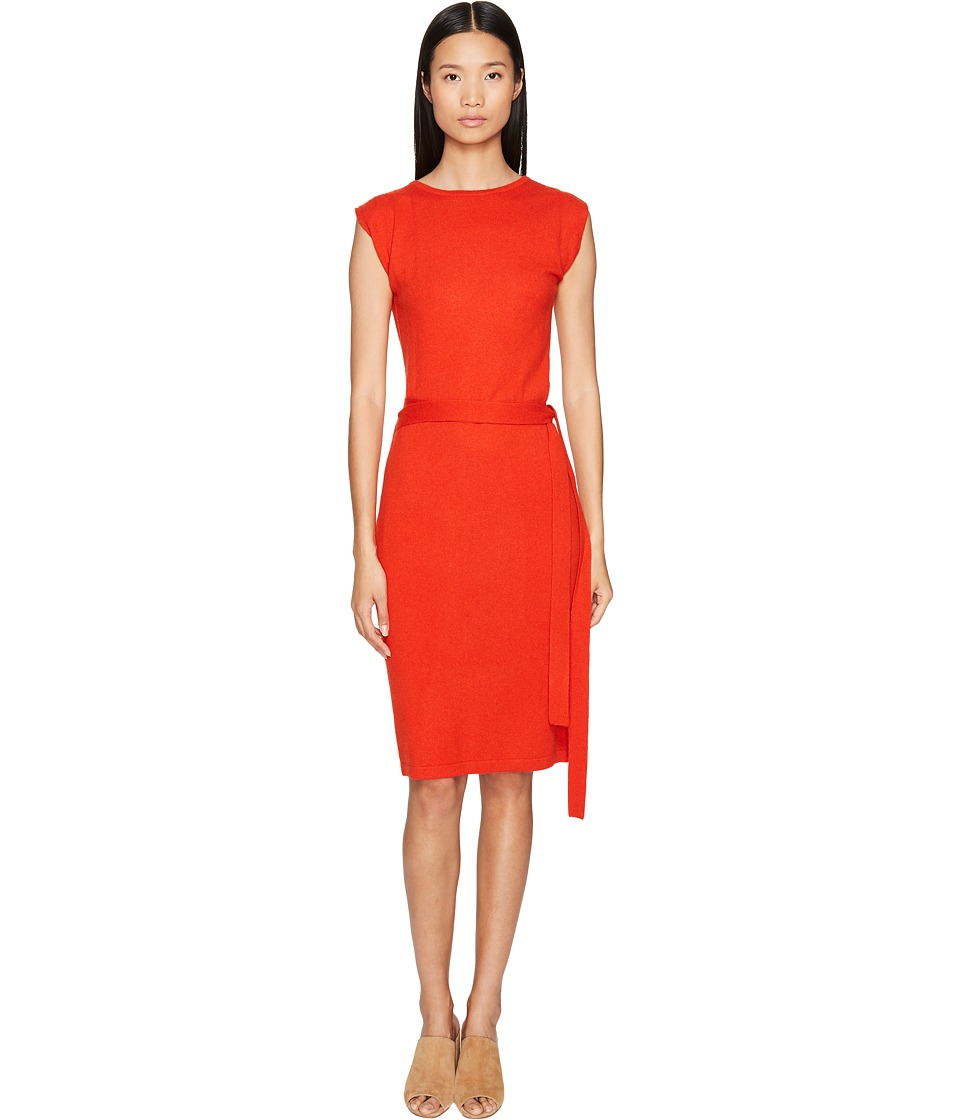 Cashmere In Love - Colette Wrapped Envelope Dress (Poppy Red) Women's Dress