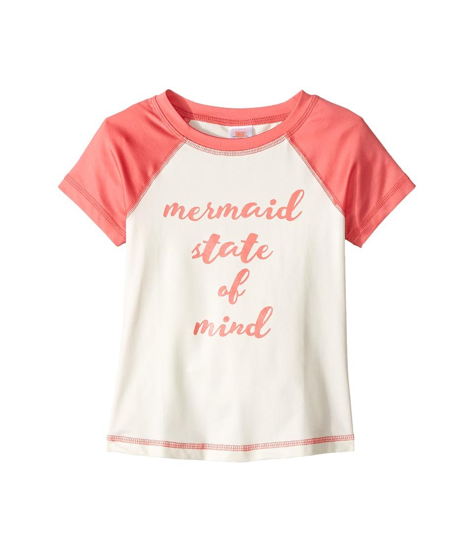 Billabong Kids Sol Searcher Short Sleeve Rashguard (Little Kids/Big Kids) (Paradise Pink) Girl