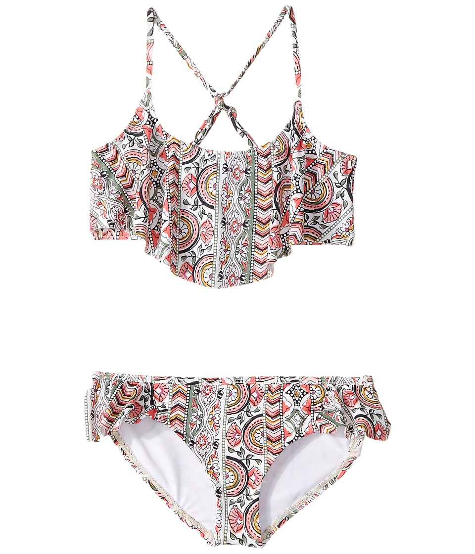 Billabong Kids - Gypsea Luv Flutter Set (Little Kids/Big Kids) (Multi) Girl's Swimwear Sets