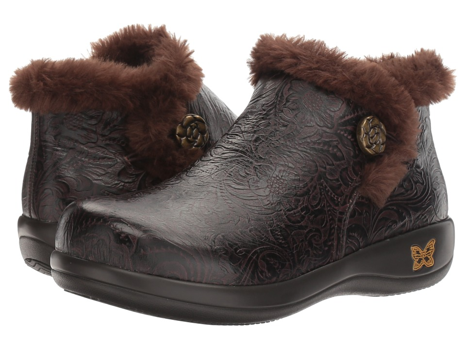 Alegria - Meri (Molasses Tooled) Women's Shoes