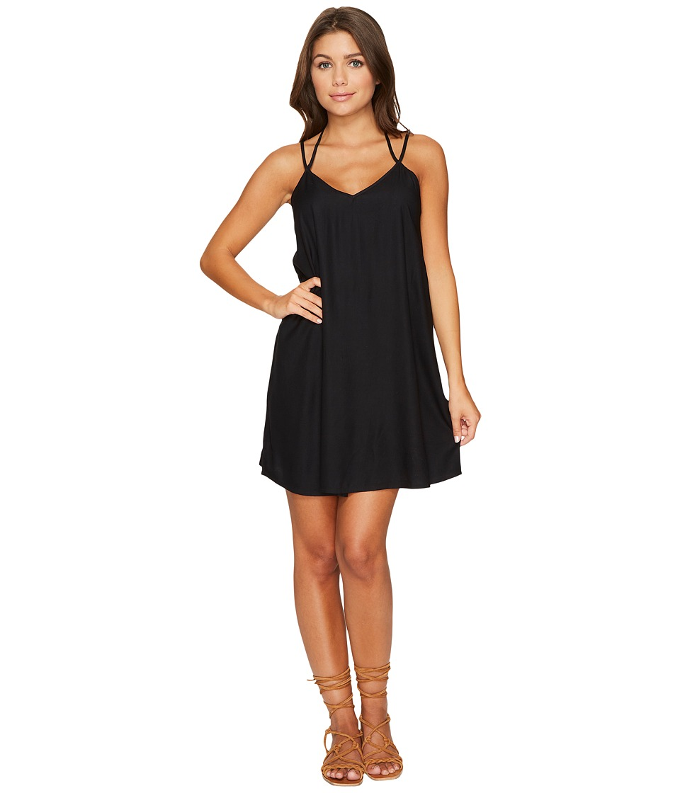 RVCA Drop Stop Dress (Black) Women