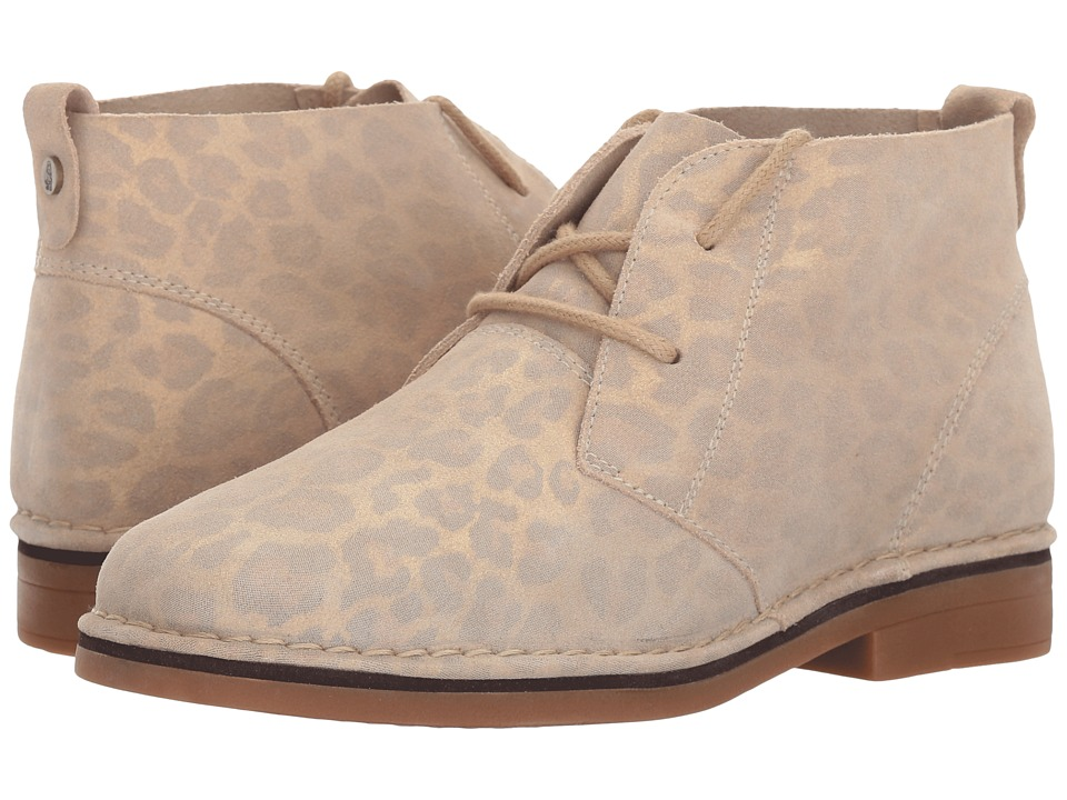 Hush Puppies Cyra Catelyn (Natural Leopard Suede) Women
