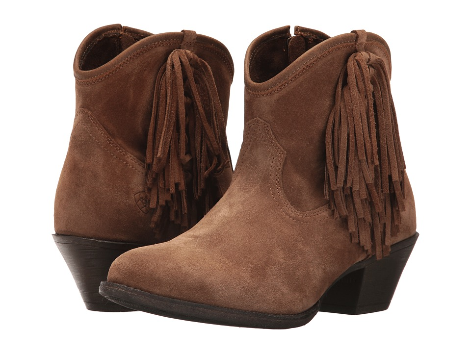 Ariat Duchess (Dirty Tan Suede) Cowboy Boots