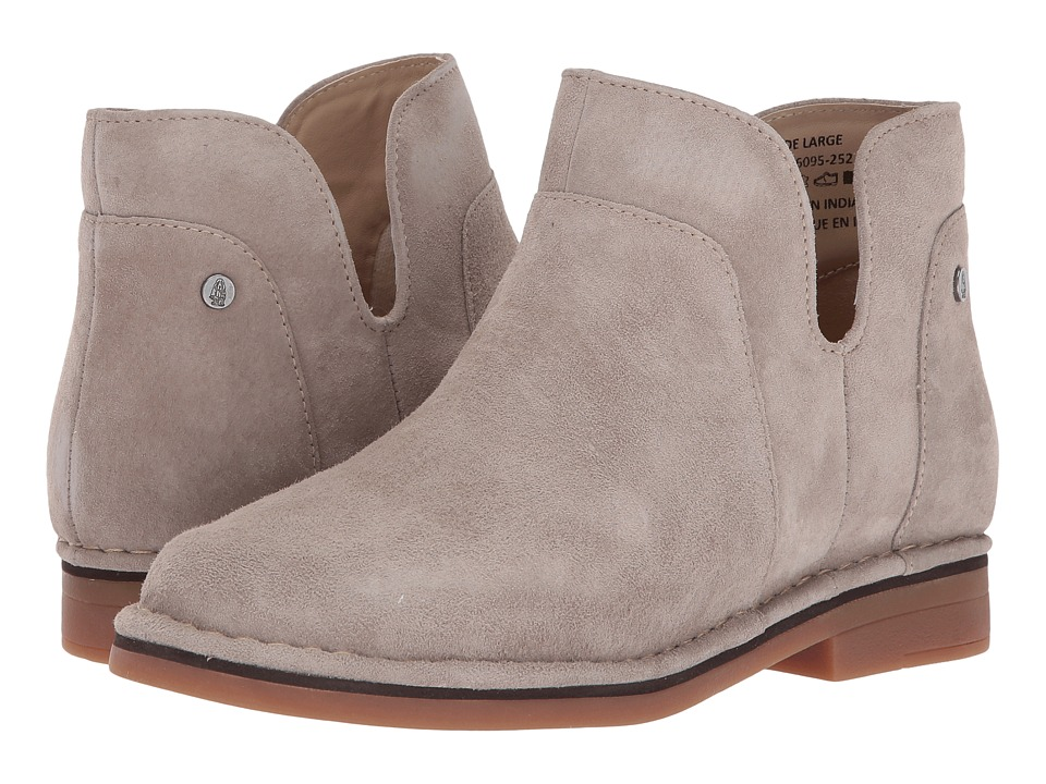 Hush Puppies Claudia Catelyn (Taupe Suede) Women