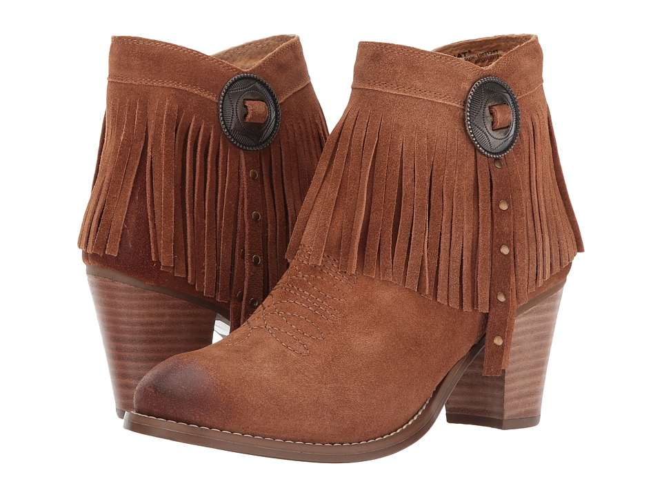 Ariat Unbridled Avery (Whiskey Suede) Cowboy Boots
