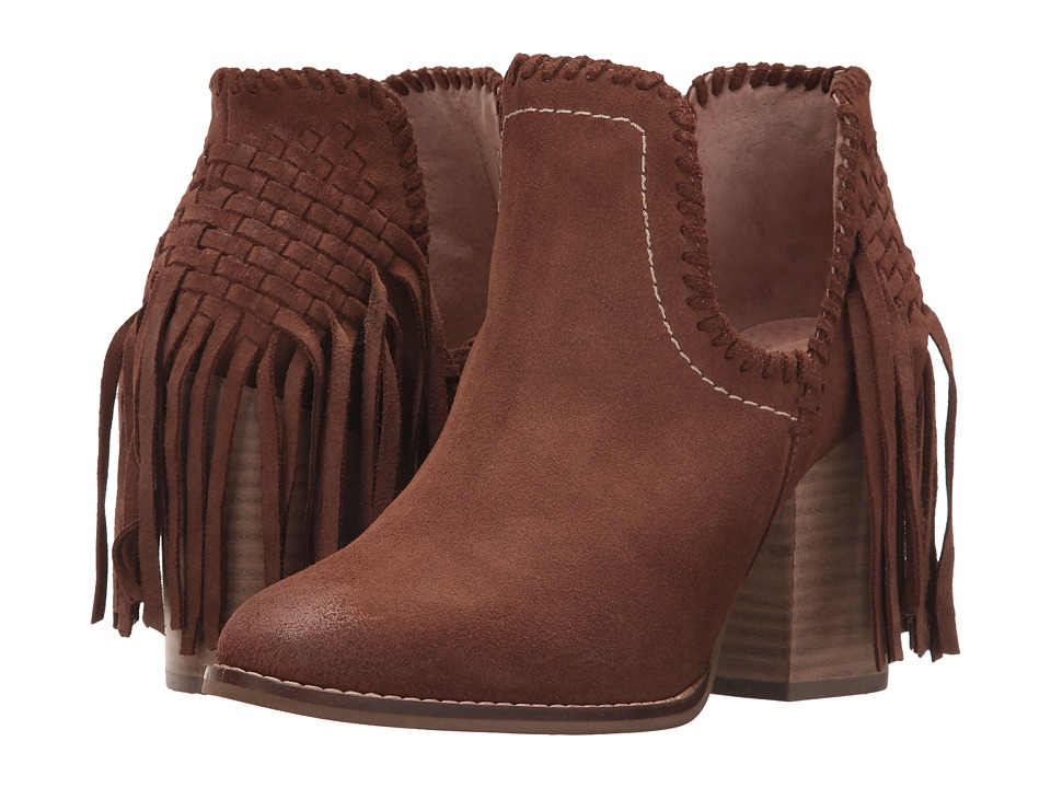 Ariat Unbridled Lily (Whiskey Suede) Cowboy Boots