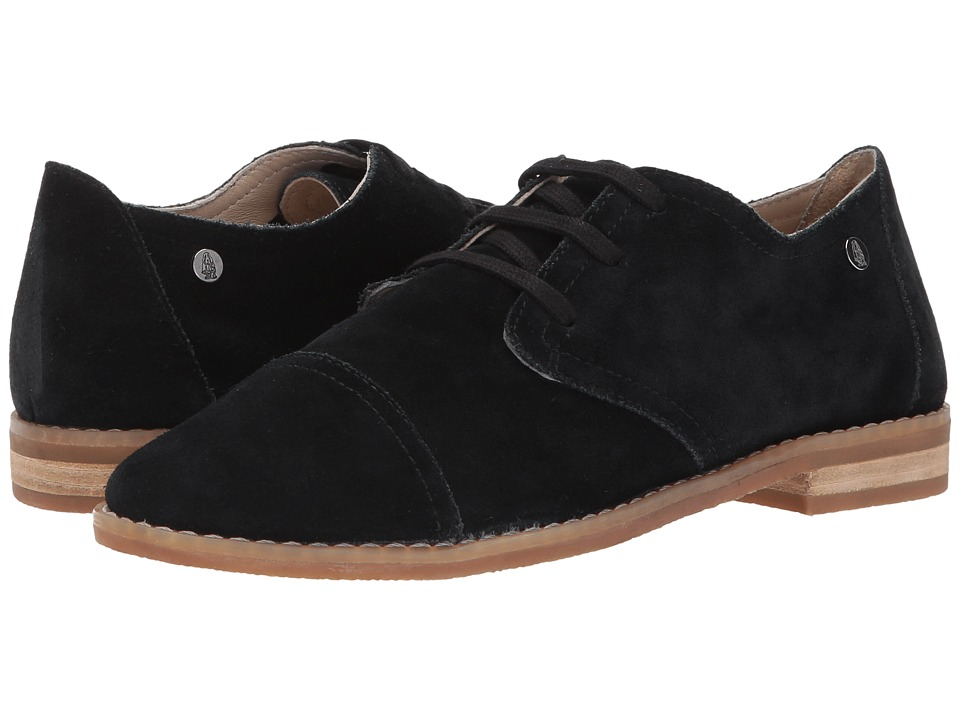 Hush Puppies Aiden Clever (Black Suede) Women