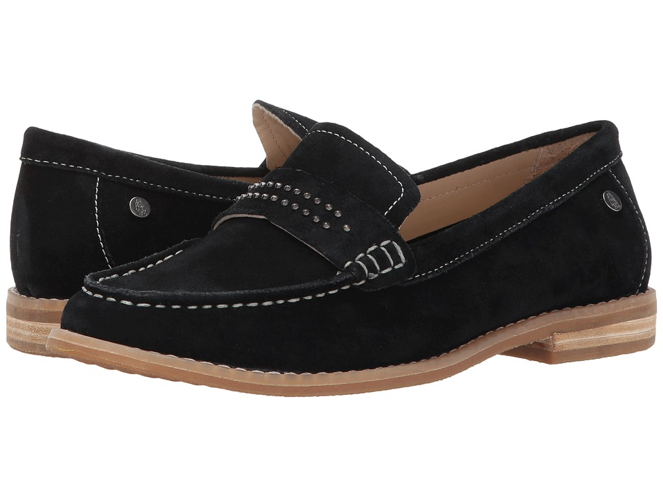 Hush Puppies Aubree Chardon (Black Suede) Women