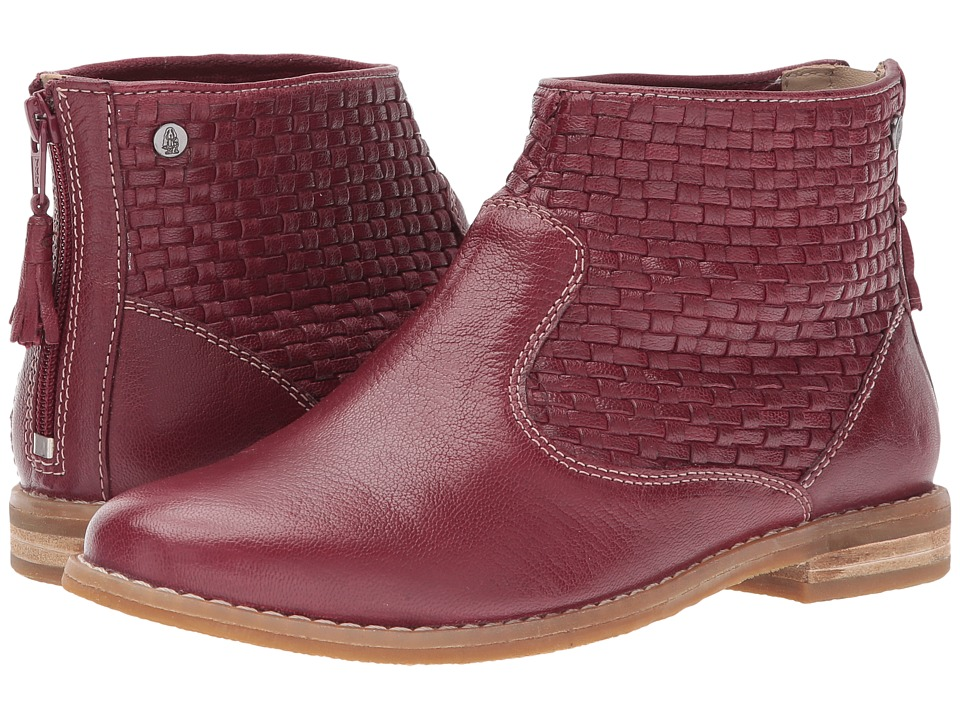 Hush Puppies Adee Chardon (Dark Red Leather) Women