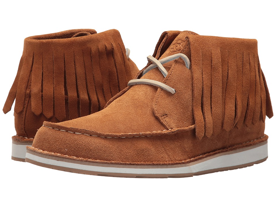 Ariat Cruiser Fringe (Harvest Suede) Women