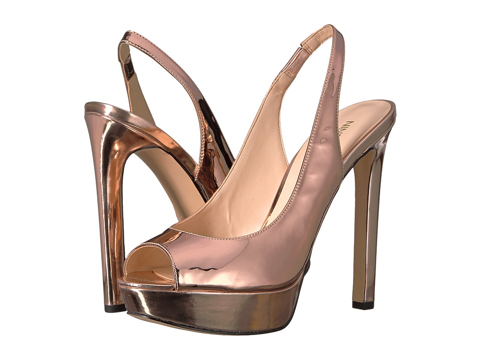 Nine West - Valorie (Pink Synthetic) Women's Shoes