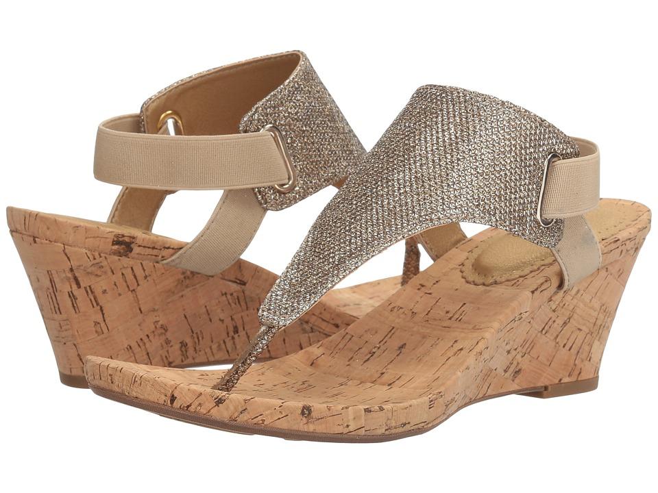 White Mountain - All Good (Light Gold Glitter) Women's Shoes