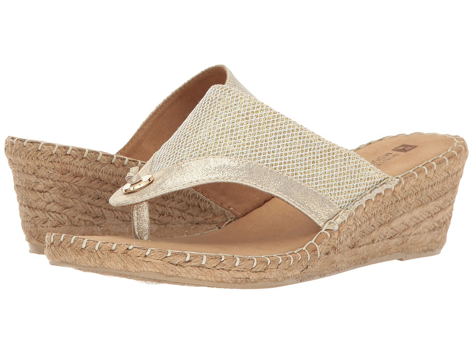 White Mountain - Bandana (Gold Glitter) Women's Shoes