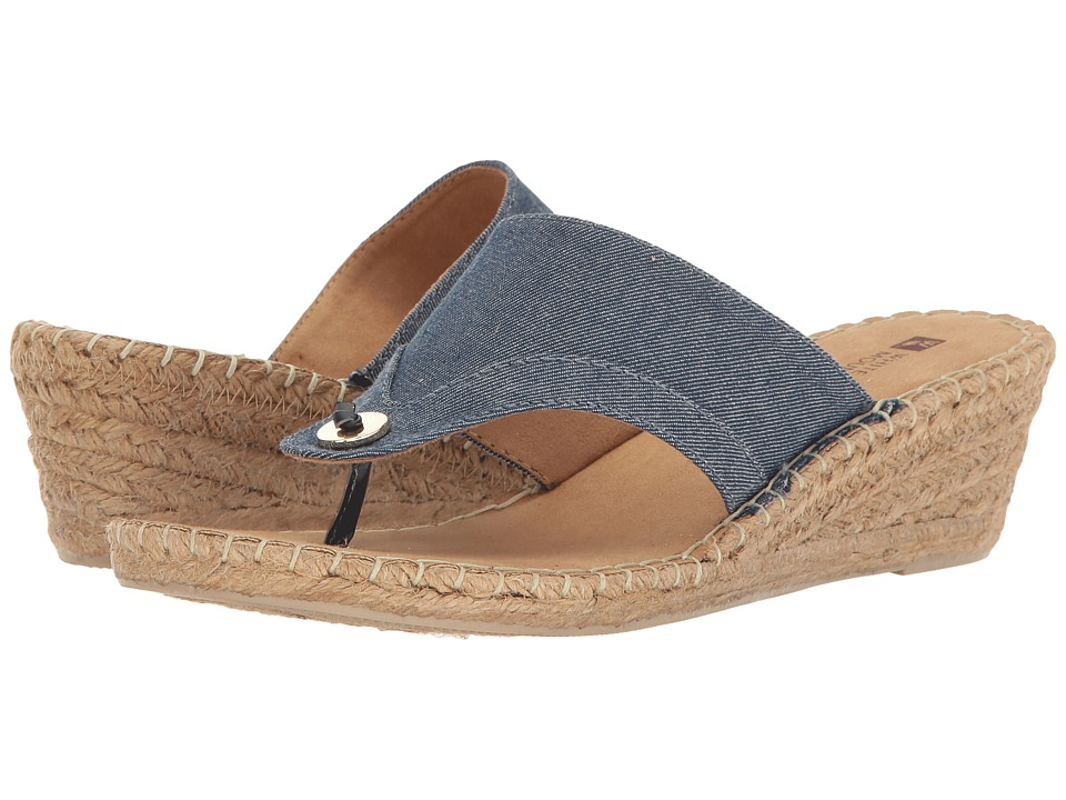 White Mountain - Bandana (Denim) Women's Shoes
