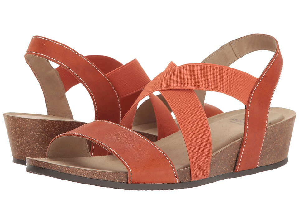 White Mountain - Carlisa (Orange) Women's Shoes