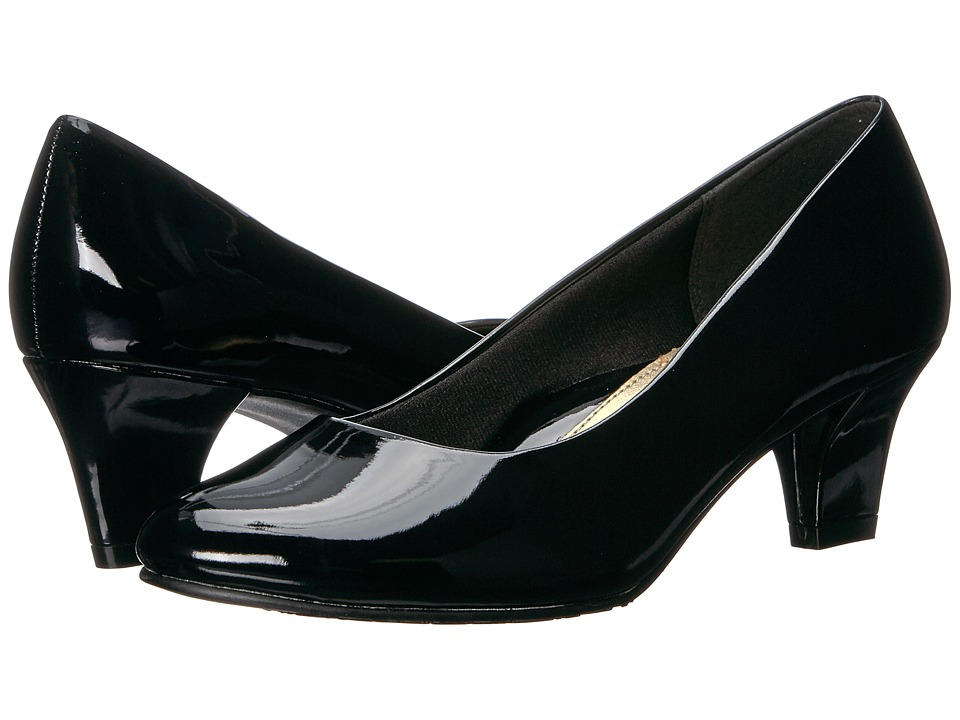 Soft Style Gail (Black Patent) High Heels
