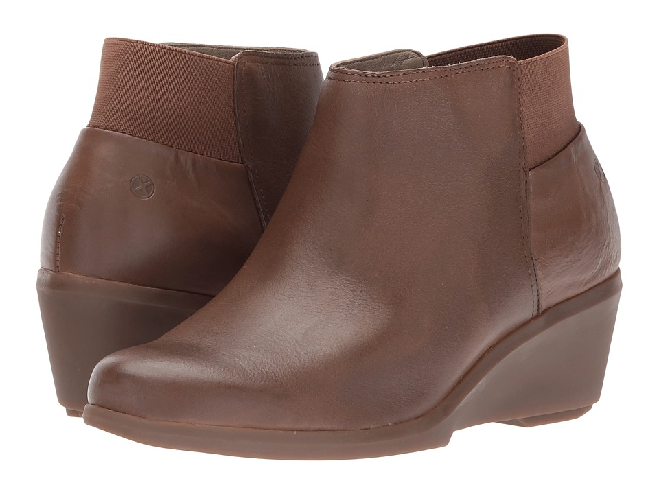 Hush Puppies Francine Mariya (Brown Leather) Women