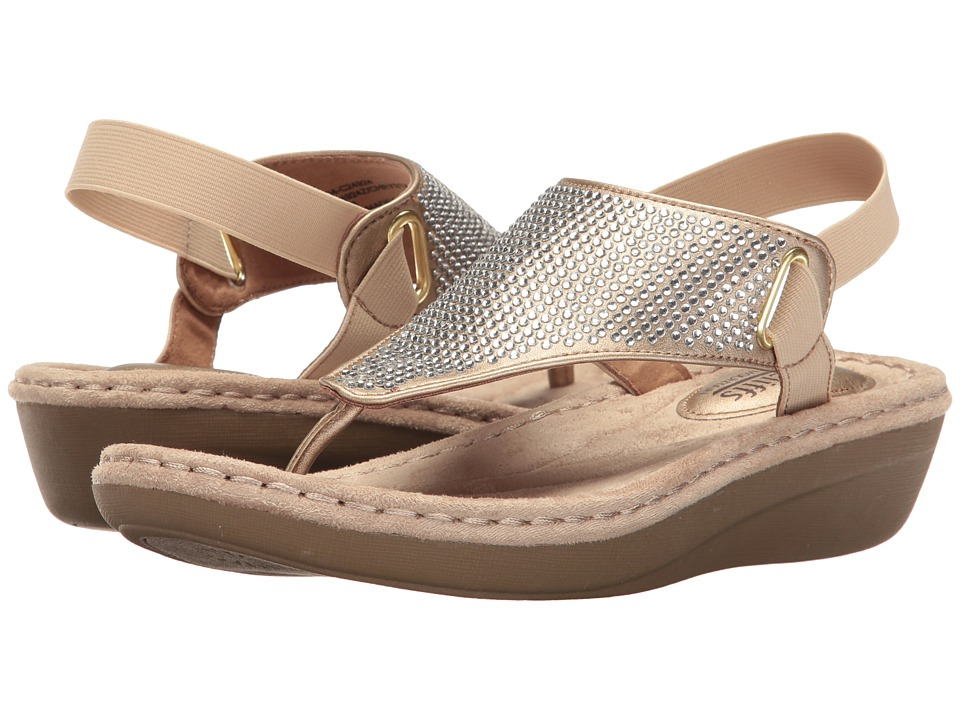 White Mountain - Chrystal (Gold Metallic) Women's Shoes
